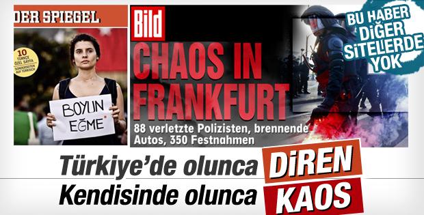 İkiyüzlü Alman medyası