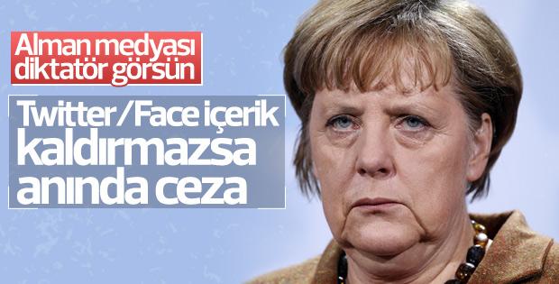 Almanya'da sosyal medyaya baskı üst düzeyde