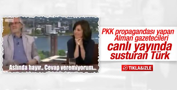 Alman gazetecileri susturan Türk