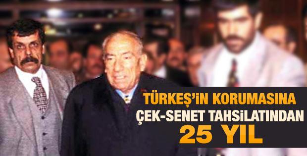 Alparslan Türkeş'in korumasına 25 yıl hapis