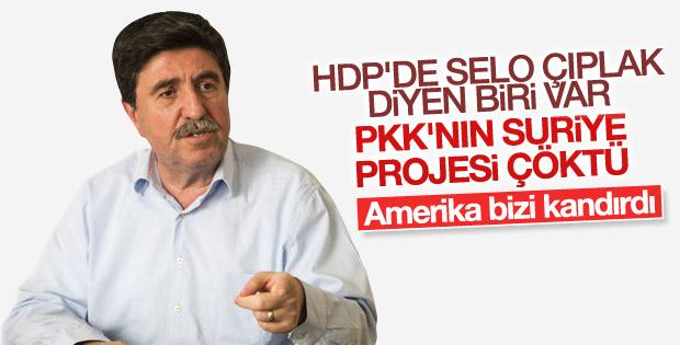 Altan Tan: PKK'nın Suriye taktiği çöktü