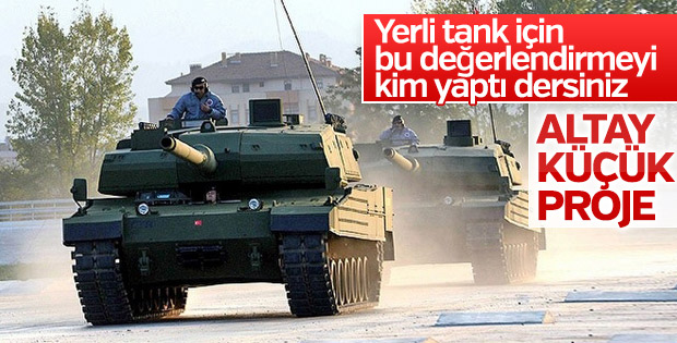 Almanlar Türkiye'nin milli tank çalışmalarından rahatsız