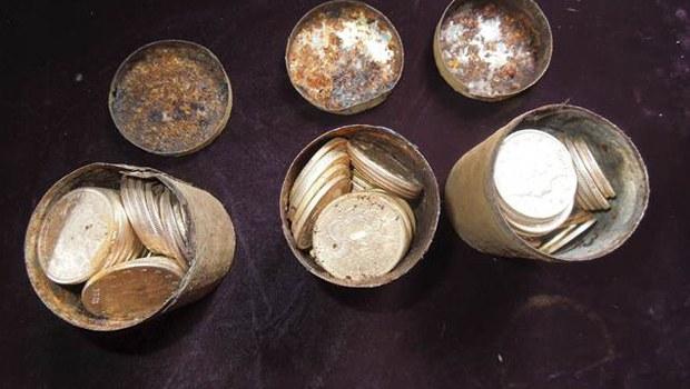 ABD'li çift köpek gezdirirken altın buldu