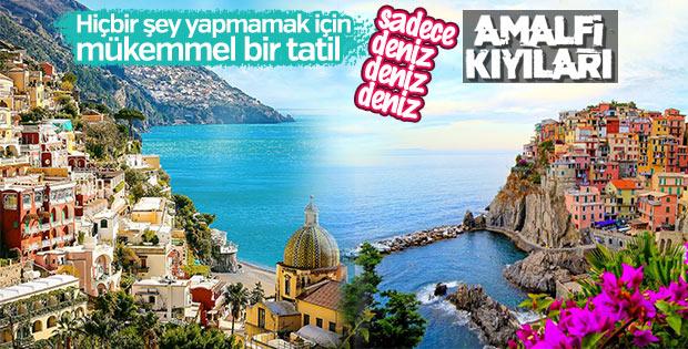 Kalabalık ama tatil gibi tatil: Amalfi Kıyıları