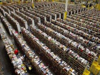 Amazon'un devasa deposu - Foto Galeri