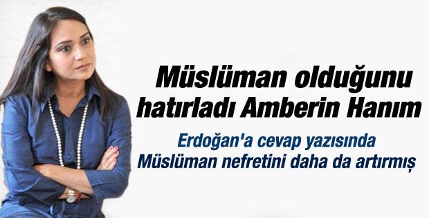 Amberin Zaman'dan Erdoğan'a yanıt