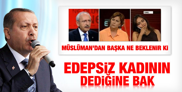 Erdoğan'dan Amberin Zaman'a sert sözler İZLE