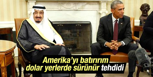 Suudi Arabistan'dan ABD'ye: O yasa geçerse batarsınız