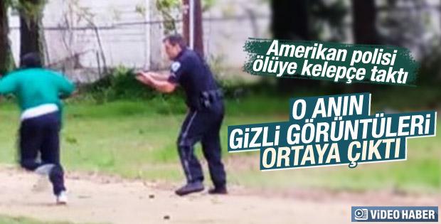 ABD polisi siyahiyi 8 kurşunla sırtından vurdu
