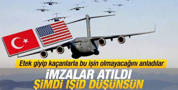 Türkiye ve ABD arasında imzalar atıldı