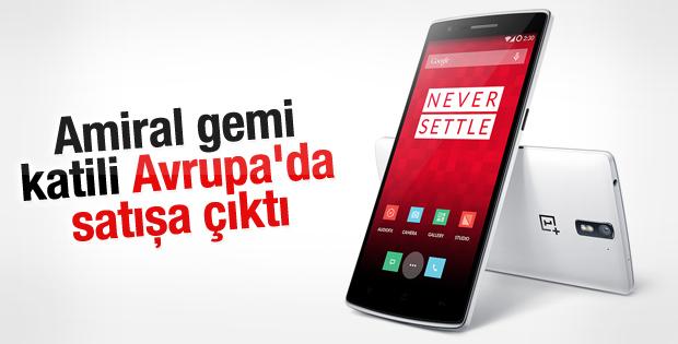 OnePlus One Avrupa'da satışa çıktı