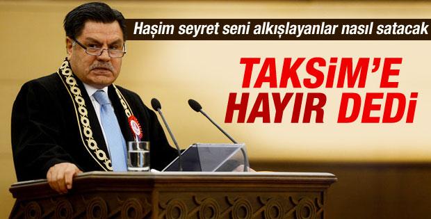 Anayasa Mahkemesi'nden Taksim açıklaması