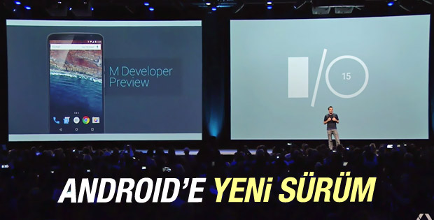 Android'e yeni sürüm: Android M