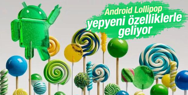 Android 5.0 Lollipop ile gelecek yenilikler