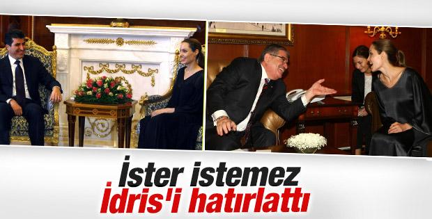 Angelina Jolie Neçirvan Barzani ile görüştü