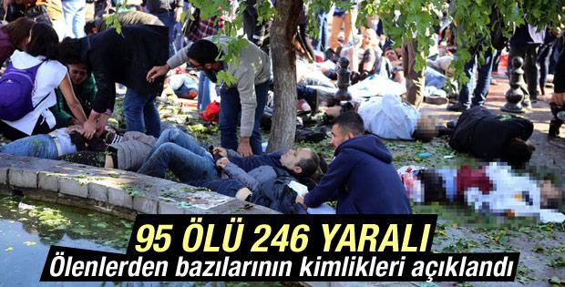 Ankara'daki terör saldırısında ölenlerin kimlikleri