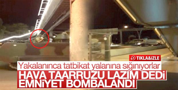 Darbecilerin Ankara Emniyet'e saldırdığı an