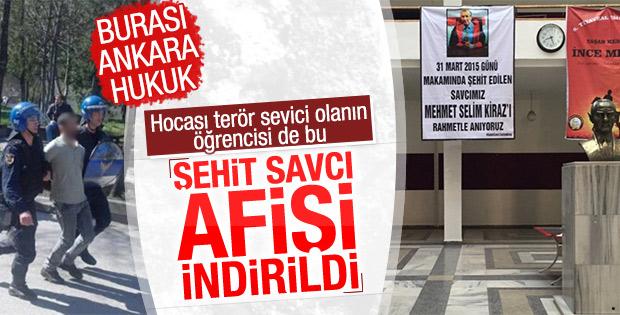 Ankara Üniversitesi'nde PKK'lı saldırısı