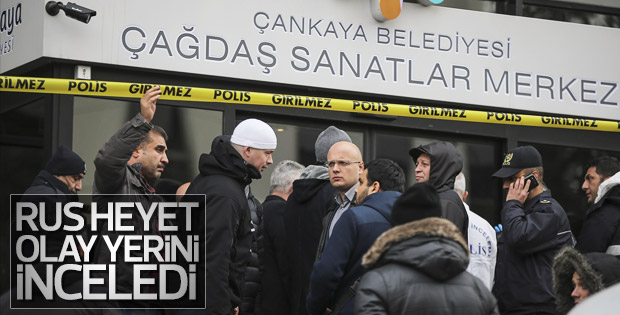 Saldırıyı soruşturacak Rus heyet Türkiye'de