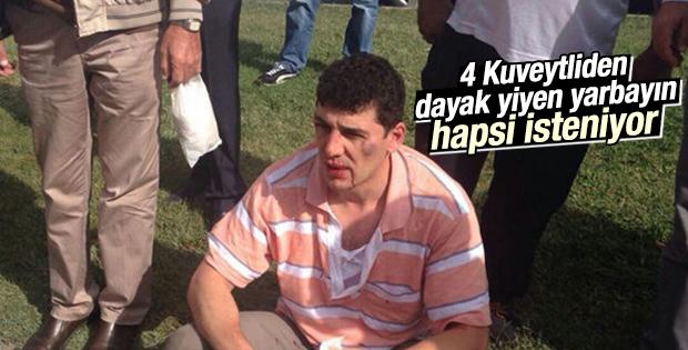 Ankara'da dayak yiyen yarbaya hapis cezası istemi