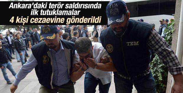 Ankara'daki terör saldırısında 4 kişi tutuklandı