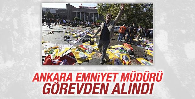 Ankara Emniyeti'nde görevden almalar