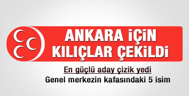 MHP'de Ankara adaylığı için kılıçlar çekildi