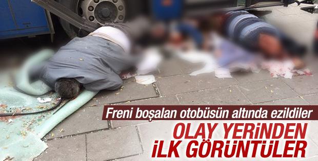 Ankara'daki kazadan ilk görüntüler