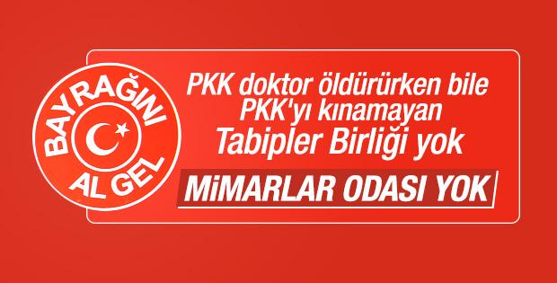 Ankara'da teröre karşı dev yürüyüş