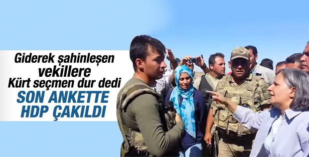 OPTİMAR'ın genel seçim anketinde HDP çakıldı