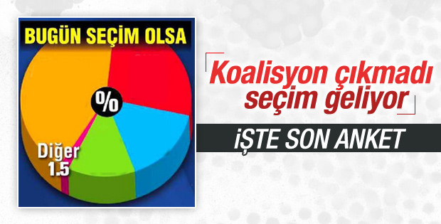 Son seçim anketi