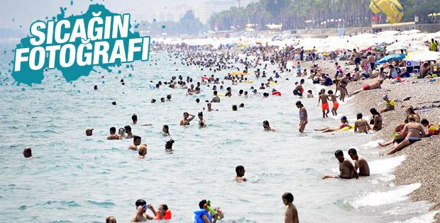 Meteoroloji'den Antalya'ya tehlikeli sıcaklık uyarısı