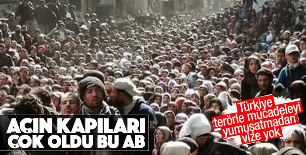 AP Başkanı: Türkiye'ye vize serbestisi yok