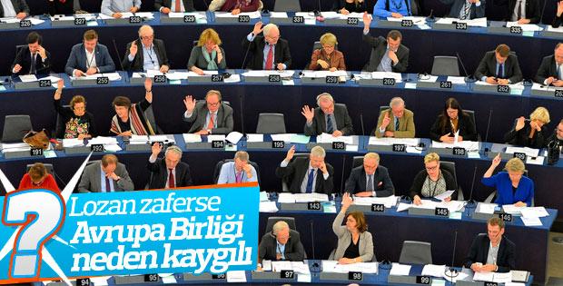 AP Erdoğan'ın Lozan açıklamalarından endişeli