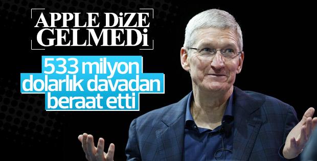 Apple'ın 533 milyon dolarlık davasında karar çıktı