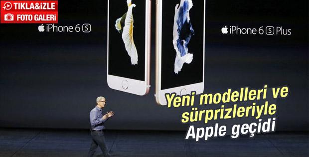 Apple iPhone 6S, iPhone 6S Plus ve iPad Pro'yu tanıttı