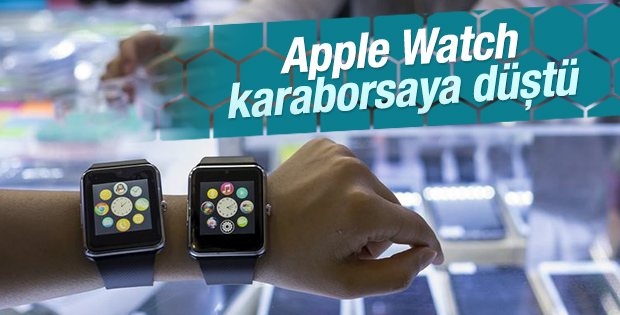 Apple Watch karaborsaya düştü