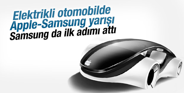 Samsung elektrikli otomobil için ilk adımı attı