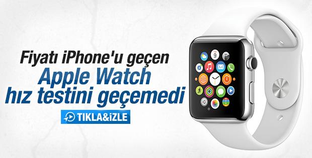 Apple Watch hız testi İZLE