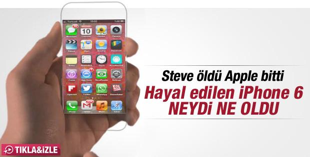 iPhone 6 nasıl hayal ediliyordu