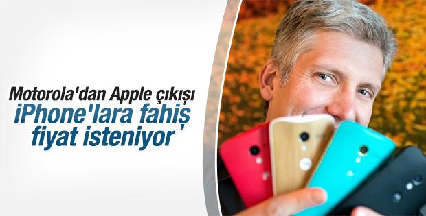Motorola Başkanı Apple'ı eleştirdi