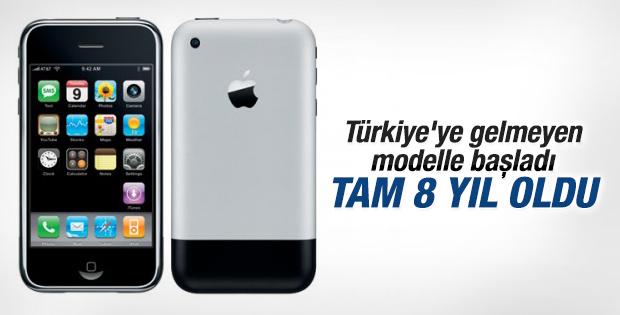 iPhone 8 yaşında