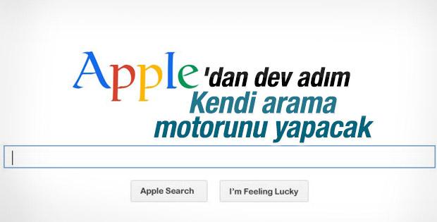 Apple arama motoru çalışmalarına başlıyor