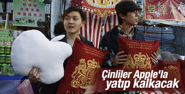 Çinliler Apple'ın yastıklarını satmaya başladı