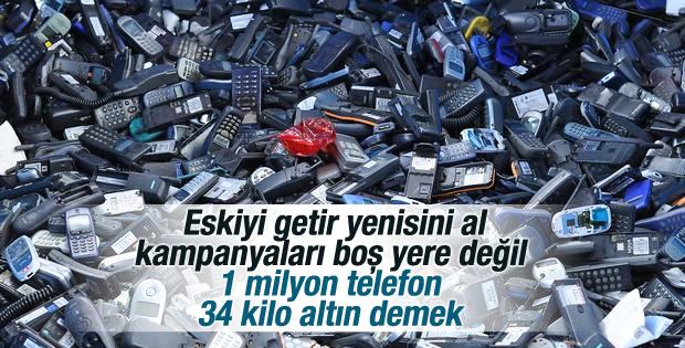 Eskiyen cep telefonları nereye gider