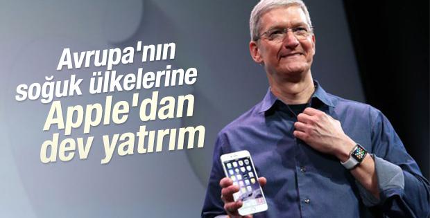 Apple'dan Avrupa'ya 1,7 milyar yatırım