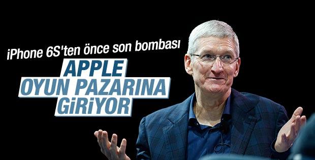 Apple oyun pazarına giriyor