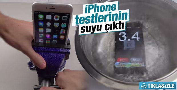 iPhone testlerinin suyu çıktı