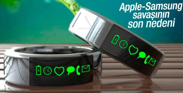 Apple ile Samsung'un akıllı yüzük savaşı