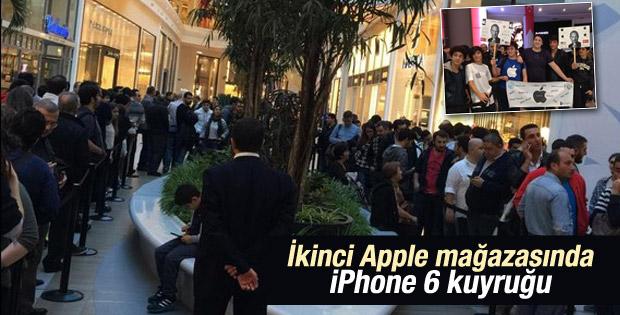 Türkiye'nin ikinci Apple Store'u açıldı